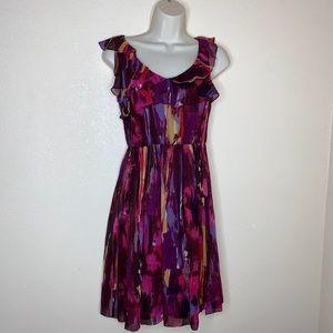 MAGGIE LONDON    chiffon ruffle summer dress 2